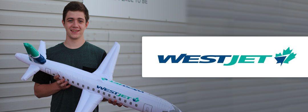 Get your WestJet raffle tickets!
